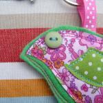 Bird Bag Charm/ Keyring